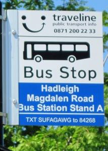 Hadleigh Bus Station d