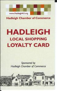 Hadleigh Loyalty Card