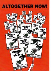 Hands off Hadleigh