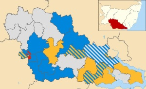 Babergh Wards Political 2011