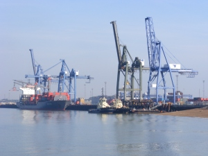Felixstowe Container Port