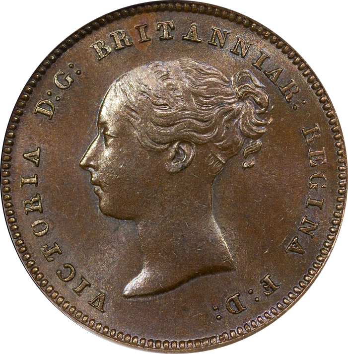 Half Farthing 1843